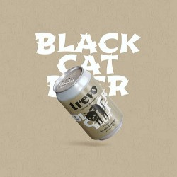 Craft Beer Oatmeal Stout Trevo Black Cat