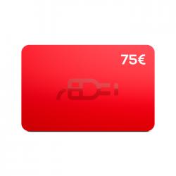 Cartão Presente 75€