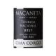 Maçanita Touriga Nacional Cima Corgo 2017
