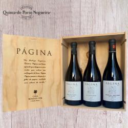 Pack Página (Caixa de Madeira)