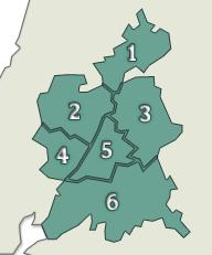 Tejo: sub-regiões