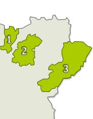Trás-os-montes: sub-regiões