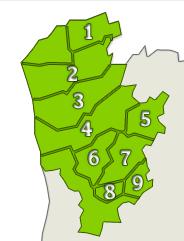 Vinho verde: sub-regiões